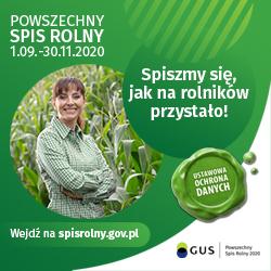 baner spis rolny 2020
